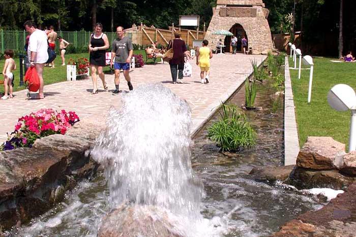 Heilbad Miskolc Tapolca großzügige Parkanlage