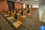Einer der zahlreichen Konferenzräume
