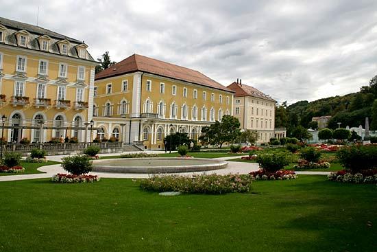 Rogaska Slatina die Therme im Thermenland Slowenien