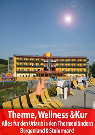 Thermenland Wellnessurlaub