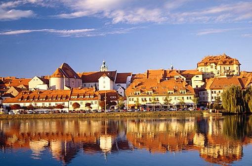 Altstadt von Maribor Slowenien