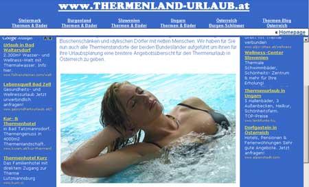 Thermenland Urlaub