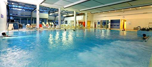 Thermal-Hallenbad im Hotel Vita in Dobrna