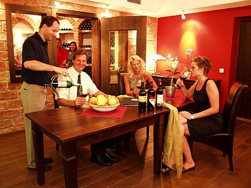 Weingenuss im Hotel SEMI Lutzmannsburg Mittelburgenland