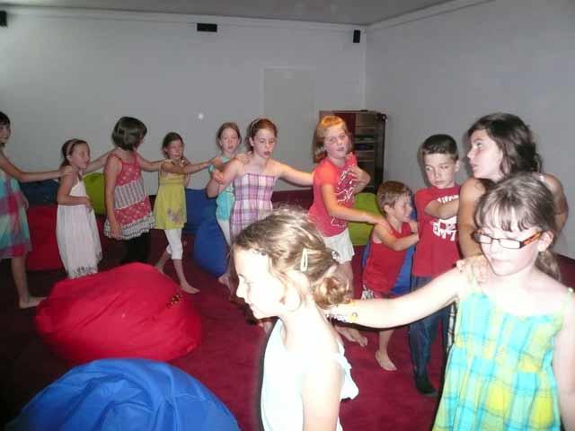 Kinderdisco im Kinderhotel Semi ****sup Mittelburgenland