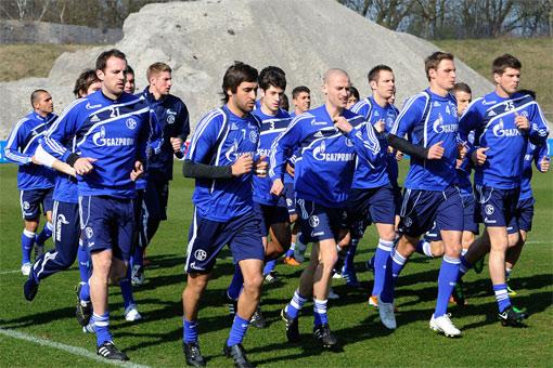 Trainingslager Schalke 04 Juni 2011 in Stegersbach