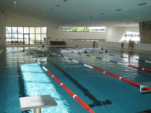 Sportbecken im 2.Stock der neuen Kärnten-Therme in Villach