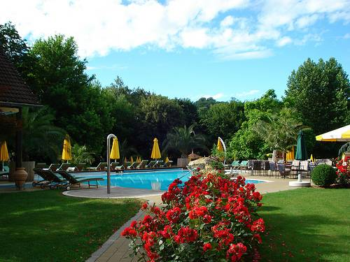 Aussenpool Hotel im Park Bad Radkersburg