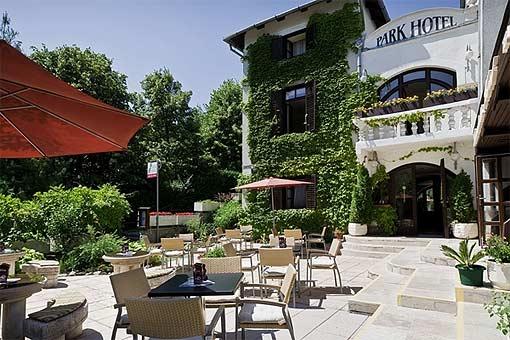Park Hotel in Bad Heviz in Ungarn