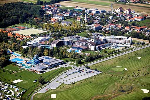 Moravske Toplice Therme in Slowenien
