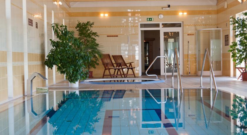 Wellnessbereich des Hotel Bodrog in Sárospatak